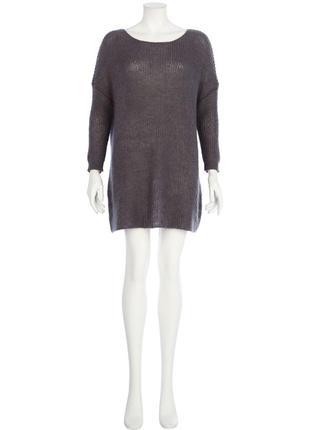 Шикарное вязаное платье свитер от river island мохер