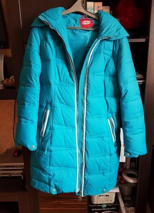 Зимняя куртка, пуховик, парка на тинсулейте daser. 42 размер