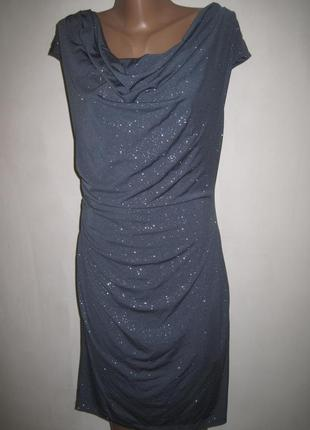 Платье с блестками ronni nicole р-р12
