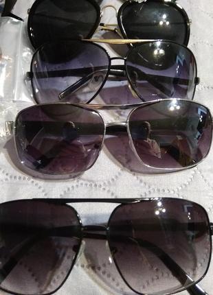 Мужские черные солнцезащитные очки 😎