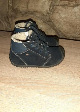 Зимние натуральные замшевые ботинки, сапожки на меху