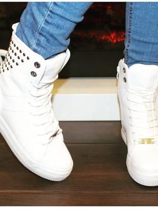 Ботинки осенние  / высокие кеды