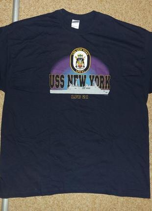 Футболка lpd-21 uss new york