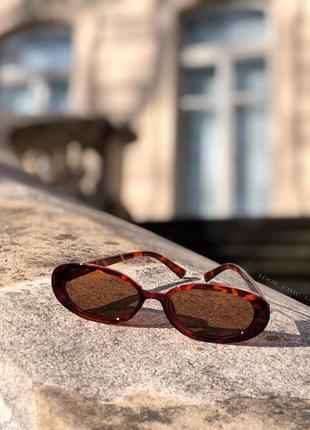 Солнцезащитные очки леопардовые