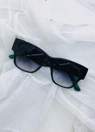 Очки солнцезащитные в стиле gucci made in italy