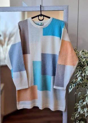 Стильный  теплый шерстяной свитер с ангорой 🌺