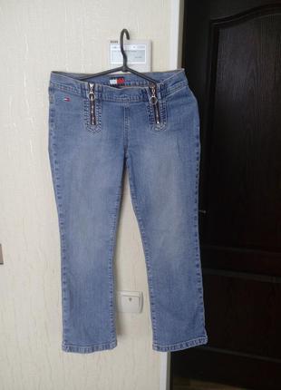 Укороченые джинсы tommy jeans