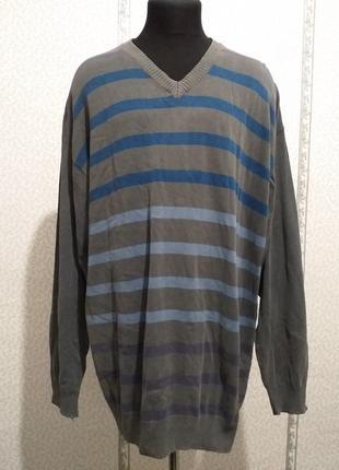 Пуловер, большой размер.(3737)