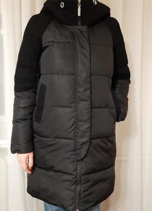 Зимова чорна куртка (зимняя куртка) р. м