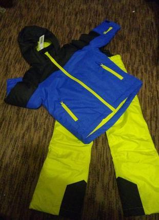 Крутой зимний костюм термокомбинезон лыжный