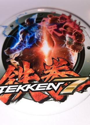 Значок круглый из игры tekken