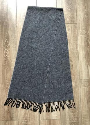 Мужской шикарный кашемировый шерстяной шарф royal class