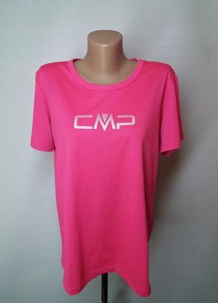 Яркая розовая футболка для спорта cmp италия