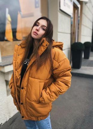 Куртка оверсайз на зиму❄️, курточка