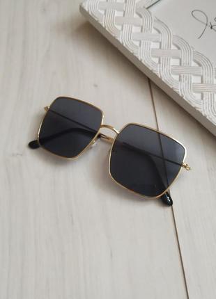 Квадратные очки, очки солнцезащитные квадраты