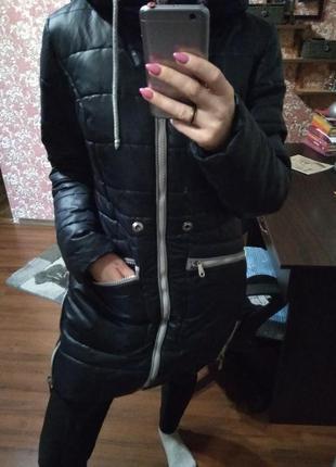 Зимняя куртка теплая🍁- xs s m
