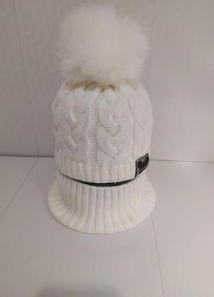 Акция зимний комплект 48-50 шапка и снуд хомут grans польша  более 1500 отзывов