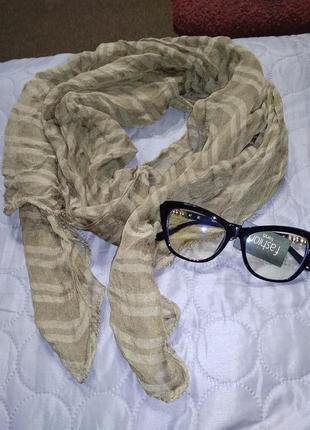 Лёгкий и тепленький шарф 🍁