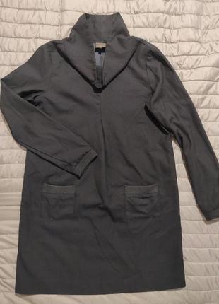 Платье с костюмной ткани на подкладке