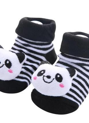 Носочки носки пінетки з іграшкою