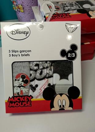 Трусы для мальчика disney mickey mouse