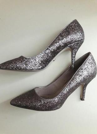 Next  туфли блестки паетки