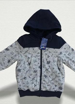 Мастерка-курточка 110-116 рост, 5-6 лет. lupilu