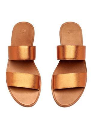 Босоножки шлепанцы сандали h&m premium 38