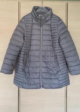 Куртка биопух на тёплую зиму gerry weber размер 44