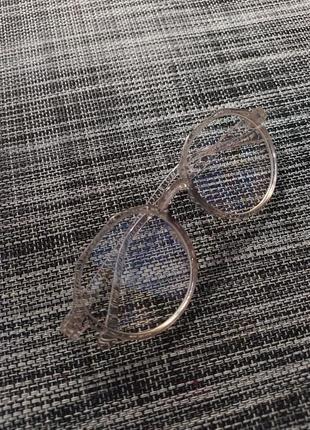 Очки без диоптрий прозрачные имиджевые
