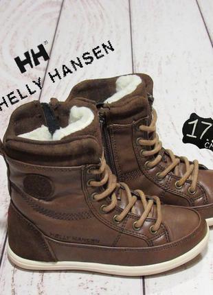 Helly hansen утеплённые ботинки.