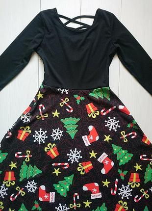 Новогоднее платье s
