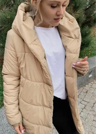 Зимняя куртка «зефирка». реальные фото! очень теплая, объемная и удобная. разные размеры!