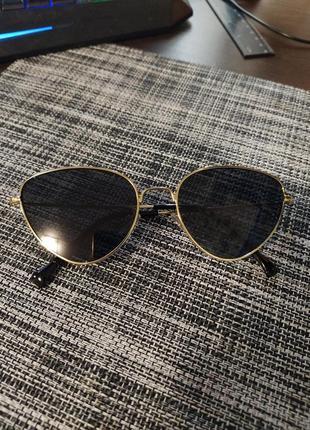 Солнцезащитные очки черные кошки cat eye