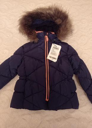 Теплая куртка+жилека для маленькой модницы.👸 name it 👍