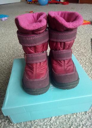 Термо зимние ботинки сапожки для девочки