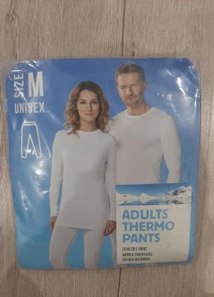 Термобелье, штаны adults thermo pants