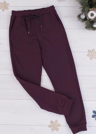 Зимние спортивные брюки на флисе
