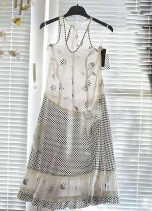Платье в горошек. белорусский трикотаж
