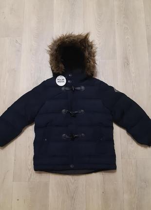 Добротная зимняя куртка reserved на мальчика