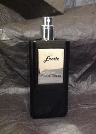 Erotic franck boclet 5 ml extrait de parfum, духи, распив