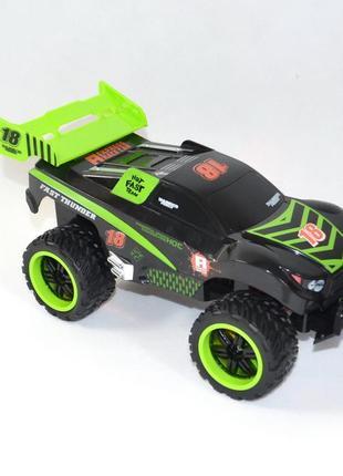 Машинка на радио управлении модель скоростной джип для кросс кантри салатовый