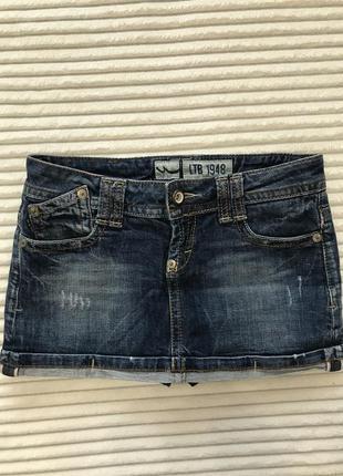 Джинсова юбка- шорти