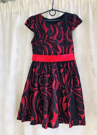 Нарядное платье 6- 8 лет
