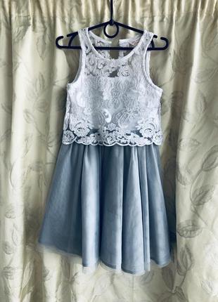 Нарядное платье glory jeans 4-5 лет/110