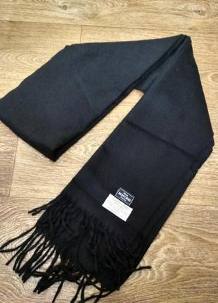Швейцарский шарф knize, шерсть, ангора.