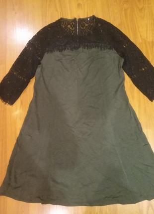 Платье, трикотаж двунитка