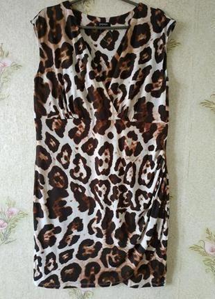 Женское платье в леопардовый принт # женское платье # papaya