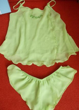 Сатиновый набор м пижамка эротическое белье