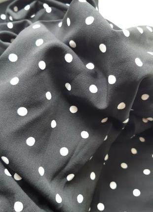 Платье в белый горох горошек сукня в горохи платья в горошок2 фото